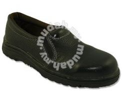 Safety Shoe Rhino Low Cut Slip On Black L3200 Lady