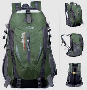 Army Green Travel Bag Hiking Camping Backpack