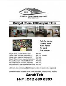 Budget Room for rent Semenyih University Nottingham
