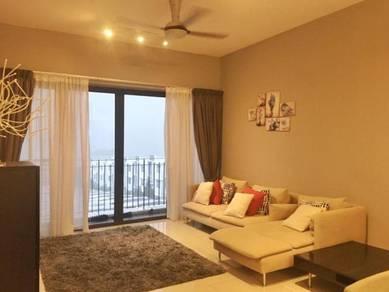 [corner unit][fully furnished]16 quartz sky villas taman melawati