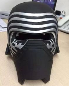 Star wars kylo ren helmet cosplay