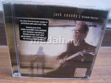 CD Jack Casady - Dream Factory