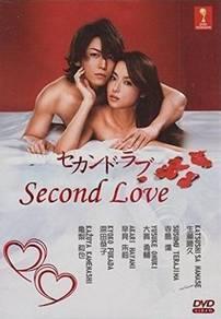 Dvd japan drama Second Love