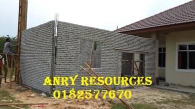 Konkrit batu dan renovation