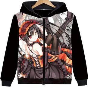 Date a live Kurumi Totori Tohka Sweater Jacket