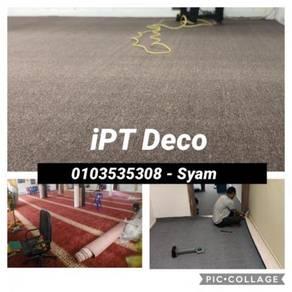 Pasangsiap karpet pejabat / carpet pile /7YHN