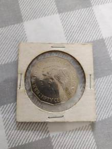 Australia 1981 50 Cents Royal Wedding Coin 3