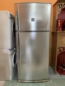 Refrigerator Sharp Freezer Peti Ais Sejuk Fridge