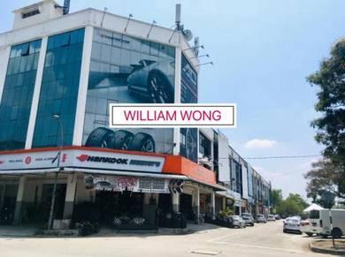 BEST! 3 Storey Shoplot Kawasan Perniagaan Asas Murni Bukit Minyak BM