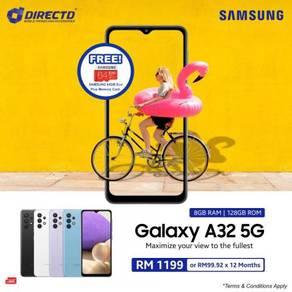 SAMSUNG Galaxy A32 (5G / 8GB RAM / 5K BATT)TERBARU