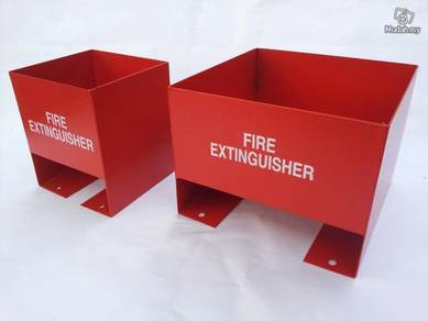 Fire Extinguisher Metal Floor Stand - Pemadam Api