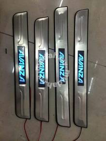 Toyota avanza led side sill plate door side step