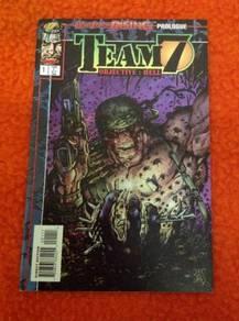 Team 7 comic