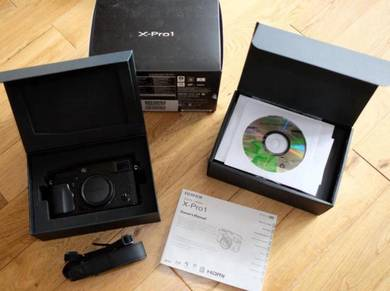 Boxed Fujifilm X-Pro With leather Case