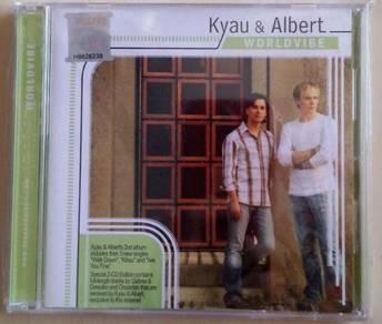 IMPORTED CD Kyau & Albert Worldvibe 2CD