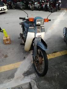 1995 or older Honda c70 petak