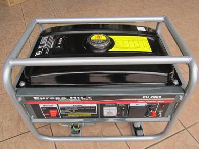 EuropaHIlt EH2900 Gasoline generator