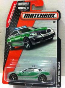 Matchbox 2015 MBX Heroic Rescue BMW M5 Police #53
