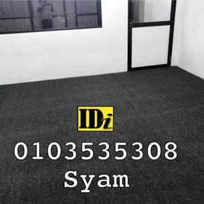 Karpet loop 3mm, carpet pejabat siappasang / TVR5