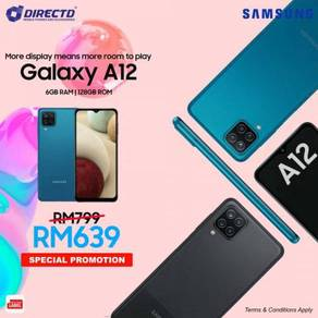SAMSUNG Galaxy A12 (6GB RAM/128GB/ 5K BATT)MYset