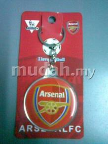 Arsenal FC 2-Side Plastic Pendant Key chain 52mm