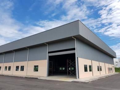 Bukit Minyak Warehouse with Tenancy