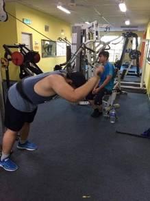 Gym center at parit raja