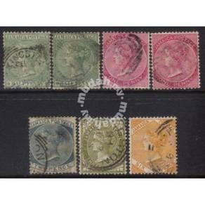 JAMAICA 1883-1897 Victoria USED CAT £10+ BK934