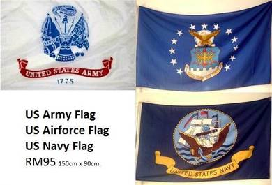 US Army Airforce Navy Flag