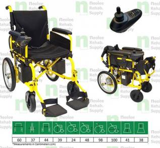 [Neolee] NL-LK806A Deluxe Electric Wheelchair