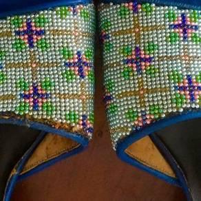 50-60™s Baba Nyonya Manik (beads) shoe 7777