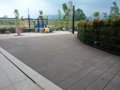 Decking untuk kolam dan taman