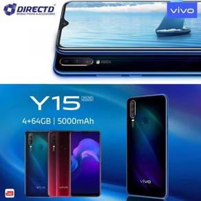 VIVO Y15 -2020 (4GB RAM/3 Kamera BLKG/5K BATT)ORI