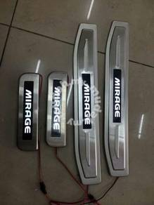 Mitsubishi mirage led side sill plate door step