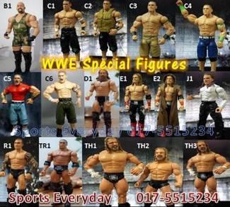 Patung WWE WWF Figures Champion Belts Shirts Baju