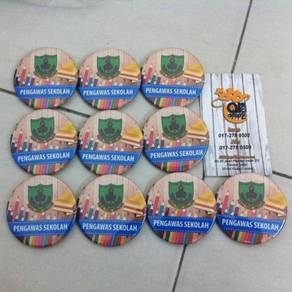 RM1 Cetak Button Badge Custom
