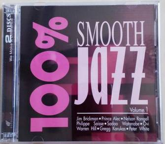 IMPORTED CD 100% Smooth Jazz Vol.1 2CD