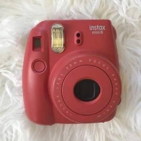 Instax Mini Red Polaroid Camera