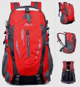 Red Mountain Travel Bag Hiking Camping Backpack