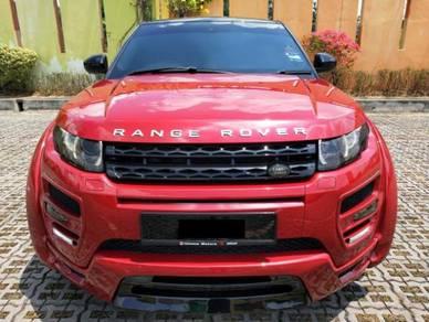 Range Rover Evoque Hamann Wide Bodykit