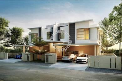 New Semi-D located Hill Top Bukit Permai