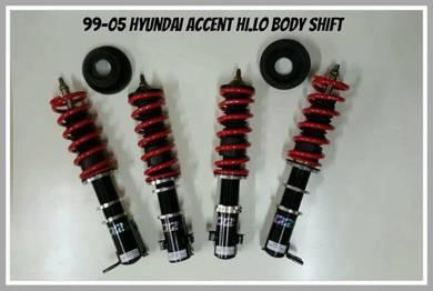 D2 adjustable hi low BODYSHIFT ACCENT 99-05