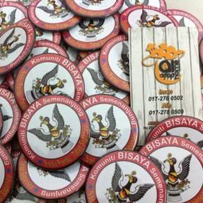 Khidmat Printing Button Badge