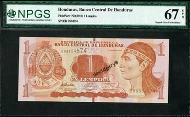 Honduras 2012 1 lempira