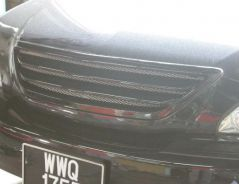 Harrier rx330 acu30 gialla front grill bodykit