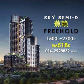Freehold Sky Semi-D Condo At Sungai Long Cheras Mahkota Cheras KL