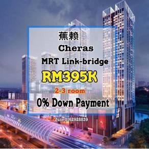 Cheras New Condo Linked MRT Cash Back 0% Down Payment KL