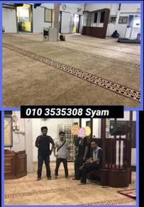Saf Carpet / karpet masjid / idi98I