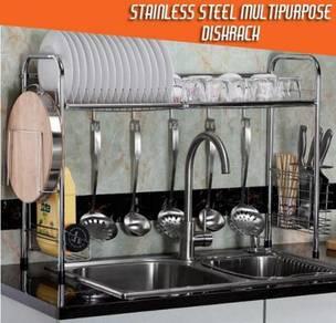 Stainless steel multipurpose dishrack 7jj.5-5.go
