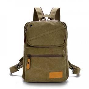 Stylish Dual-Use Khakis Casual Chest Bag Backpack